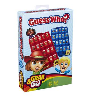 Guess Who Hasbro Guess Who Travel